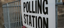 Change to Garmouth/Kingston polling place