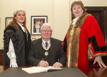 Council extend warm welcome to new Deputy Lieutenant