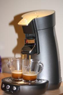 Salget av kaffemaskiner øker eksplosivt
