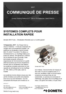 Systemes Complets Pour  Installation Rapide