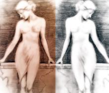 Le Serpent et La Princesse/Jane Avril och Oda Krohg – två liv