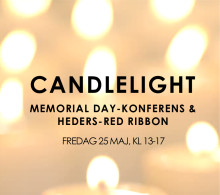 Candlelight Memorial Day Konferens & Heders-Red Ribbon 2018