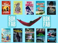 Sommarens pocketböcker från Bokfabriken