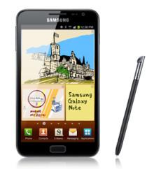Nya Samsung Galaxy Note – Samsungs största mobiltelefon nu hos 3