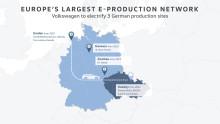 Volkswagen-koncernen fokuserar på samproduktion av flera varumärken