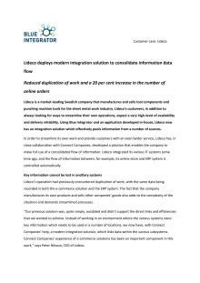 Lideco deploys modern integration solution to consolidate information data flow