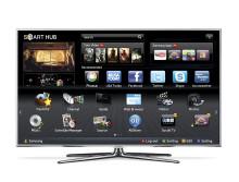 Samsungs nya smarta tv skeppas nu ut till butik