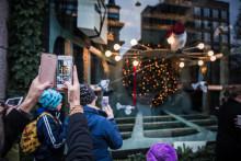 Nordiska Kompaniets julskyltning blir magisk med hjälp av AR