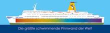 """Weltrekordversuch der Bowspirit Kids - """"Die größte schwimmende Pinnwand der Welt"""""""