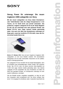 Medienmitteilung_Portable Chargers CP-Serie_D-CH_140827