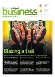 London Midland's October 2016 stakeholder newsletter
