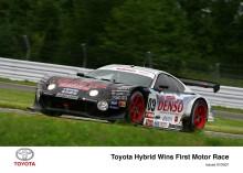 Första hybridbilen som vinner biltävling