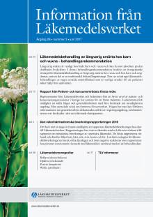 Information från Läkemedelsverket nummer 3 2017 ute nu