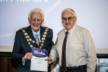 Southampton stroke survivor receives regional recognition