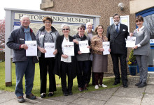 Visitors receive VIP treatment in Dornoch