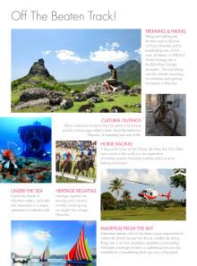 Broschüre Mauritius 365 und Off the Beaten Track