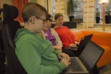 Unga med funktionsnedsättning inspirerar på sajt