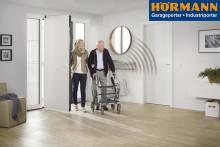 Hörmann satsar på tillgänglighet med automatisk dörröppnare