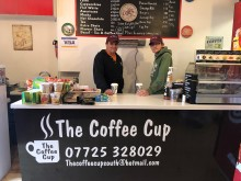 Get your soya lattes at Pulborough's new coffee shop