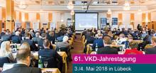 61. Jahrestagung des VKD am 3. und 4. Mai 2018 in Lübeck