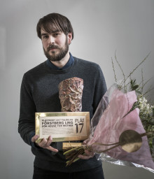 """PLÅTPRISET 2017 till Förstberg Ling för """"House for mother"""""""