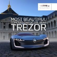Renault TreZor er kåret som den smukkeste konceptbil