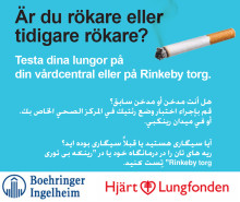 Pressinbjudan: Lungfunktionstest på Rinkeby torg, lördag 29 september