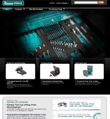Kamasa Tools visar allt på nya webbsidan