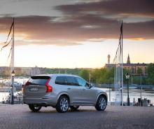 Volvo XC90 transporterar gästerna vid det kungliga bröllopet