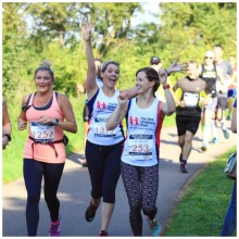 Grateful mother runs Bedford Half to thank The Sick Children's Trust