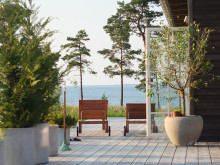 Kronhaga Strand – 6 parhus på Gotland