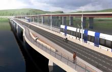 Lilla Lidingöbron får  343 miljoner i stöd