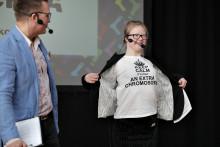 Ny artikelserie i DN Insidan - Att leva med Downs syndrom