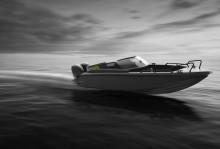 High Coast of Sweden har världspremiär på sin robottillverkade aluminiumbåt på Stockholmsmässan den 1:a mars