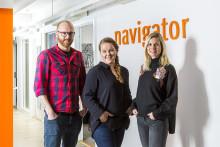 Navigator expanderar med tre nya medarbetare
