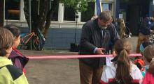 24. mai åpnet ny bydelspark på Lambertseter