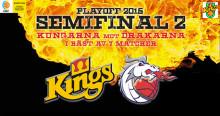 Båda basket-semifinalerna sänds live ikväll