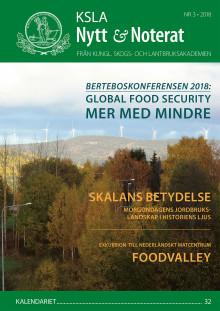 Ute nu: KSLA Nytt & Noterat nr 3-2018