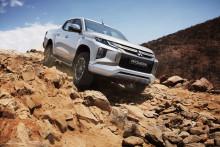 Världspremiär för nya Mitsubishi L200