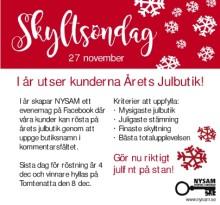 Kunderna utser Årets Julbutik i Nyköping