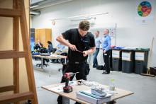 Mads Ploug Nielsen blev vinder af Regionsmesterskaberne i Skills for Elektrikere