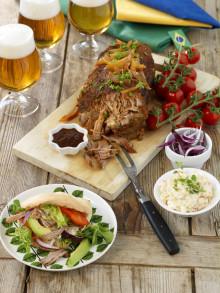 Mat mitt i matchen? Prova Kockens variant på Pulled Pork!