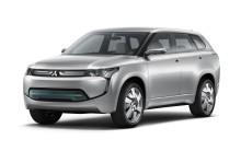 Mitsubishi visar plug-in hybrid på Tokyosalongen