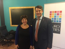 Malmö valt till vice ordförande i Eurocities social affairs forum