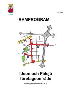 Ramprogram för Ideon Pålsjö