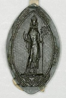 Geistlige middelaldersegl fra Hamar bispedømme