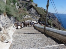 Exploring Santorini with Cruise & Walk - Diane Collins
