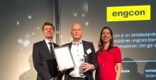 Engcon får pris som ett av Sveriges bäst skötta företag