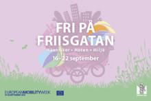Pressvisning: Fri på Friisgatan, Mobility week Malmö