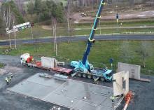Tranås Energi bygger fördelningsstation i Bredstorp